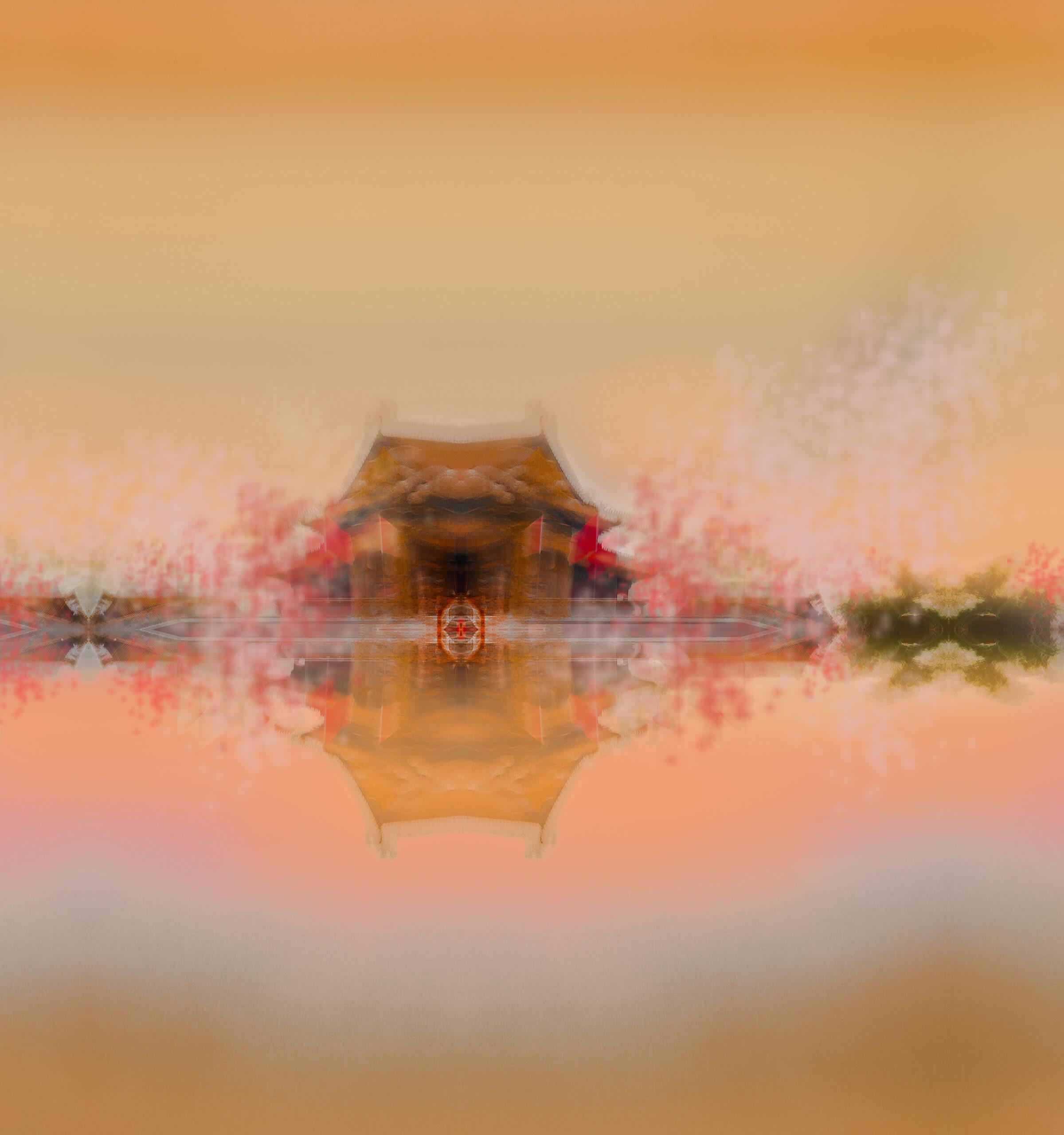 Chinese Temple at the Orange Lake