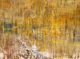 Golden Shores abstract I