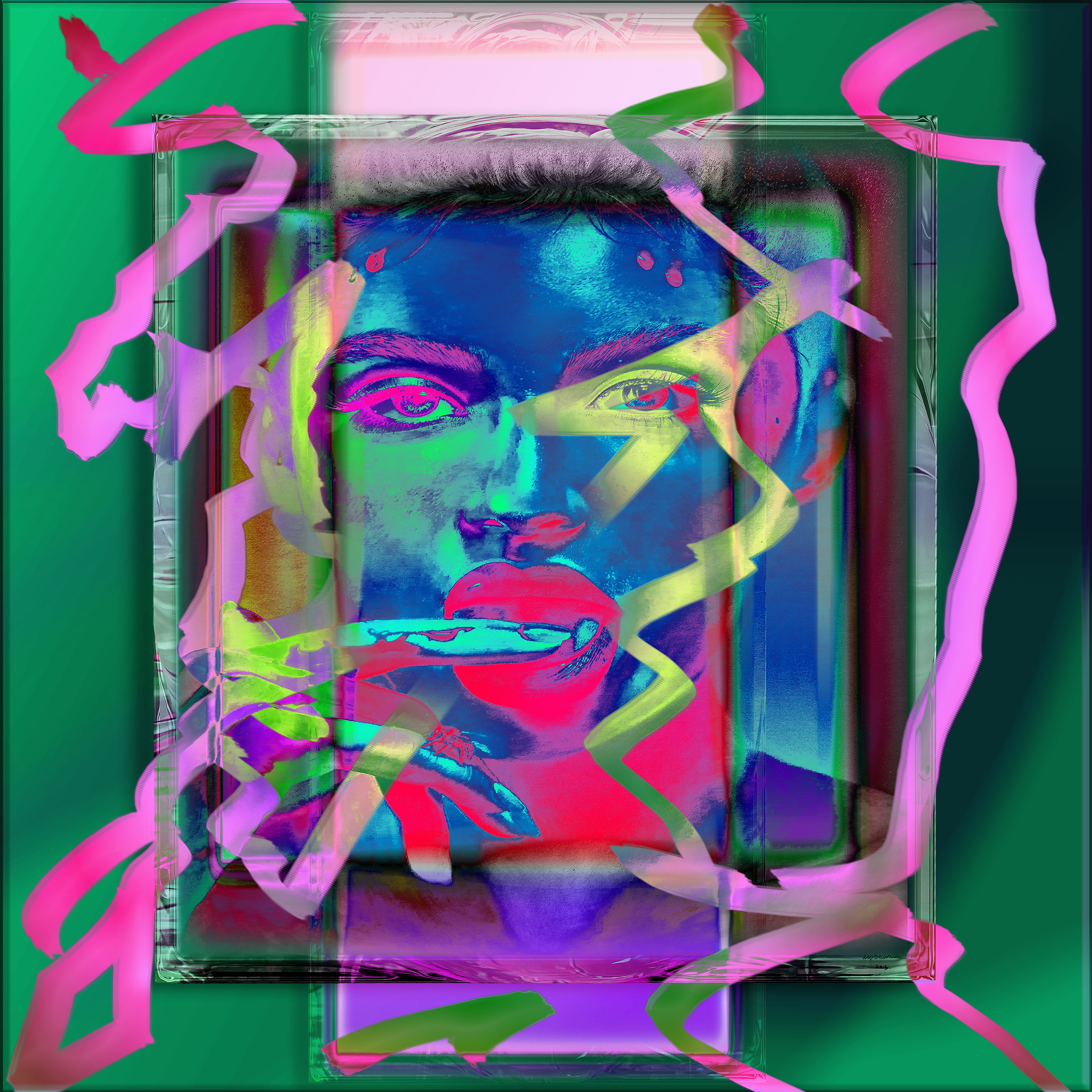 Color Face square V09