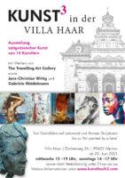 Kunst3 Villa Haar - Plakat